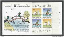 FINLANDE 1994 - CARNET  YT C1202 - Facit H24 - Neuf ** MNH - Journée D´amitié