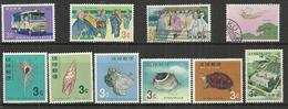 TEN AT A TIME - RYUKYU ISLANDS - LOT OF 10 DIFFERENT  4 - MNH MINT NEUF NUEVO (ONLY 2 USED) - Colecciones & Series