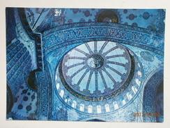 Postcard Istanbul Interior The Blue Mosque My Ref B2861 - Turkey