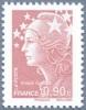 France N° 4343 ** Marianne De Beaujard Dentelé - Le 0.90 Brun Lilas Clair  - Bonnet Phrygien - Etoile - Nuevos