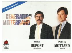 France // Politique // Personnage // Hervé Dupont Et Patrick Mottard - Personnages