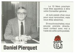 France // Politique // Personnage // Daniel Pierquet - Personnages