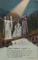 Bamforth Woman And Angel Lead Kindly Light No 1 - Angels