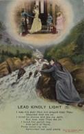 Bamforth Woman And Angel Lead Kindly Light No 2 - Angels