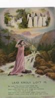 Bamforth Woman And Angel Lead Kindly Light No 3 - Angels