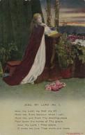 Bamforth Woman Praying Jesu My Lord No 1 - Christianity