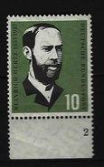 BUND - Mi-Nr. 252 Formnummer 2 - Postfrisch - [7] République Fédérale