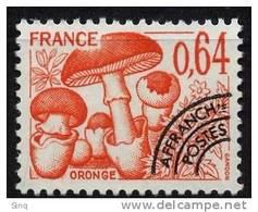 N° 158, Année 1979 Oronge, Valeur Faciale 0,64 F - Precancels