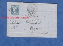 Facture Ancienne / Marque Postale - NEVERS ( Nièvre ) - Maison L. JEANNET Spécialité De Chemises Sur Mesure - 1873 - Postmark Collection (Covers)