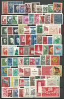 ALLEMAGNE-RDA: **, N°9A à 537 + 49/50 émiss. Gles(réf: Yvert Et Tellier), Coll.de 85 Tp, 9 Tp *, C: +100 Euros, TB - Unused Stamps