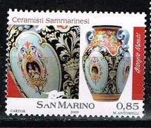 San Marino 2009, Michel# 2371 O Sammarinese Ceramists - Gebraucht