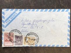 A1 Argentinien Argentina Argentine 1961 Brief Von Vincente Lopez Nach Berlin - Argentina