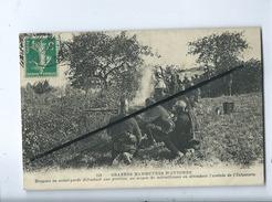 CPA -  Grandes Manœuvres D'Automne   -  (militaire , Soldat , Armée ) - Manoeuvres