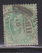 INDIA Scott # 78 Used - India (...-1947)