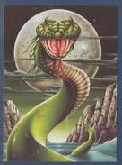 = Serpent Des Mers? Monstre? L'Ultime Réincarnation Illustration Donald Grant  Carte-postale - Animaux & Faune