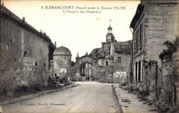 Cp Blérancourt Aisne, Guerre 1914, L'Hospice Des Orphelins - France