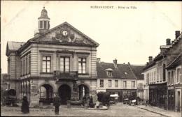 Cp Blérancourt Aisne, Hôtel De Ville, Partie Am Rathaus - France