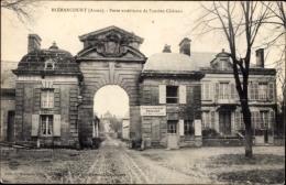 Cp Blérancourt Aisne, Porte Extérieure De L'ancien Château - France