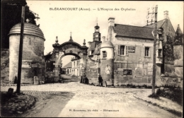 Cp Blérancourt Aisne, L'Hospice Des Orphelins, Waisenhaus - France