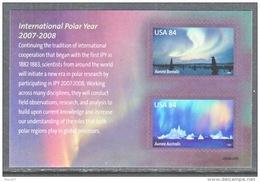 U.S. 4123  **  AURORA  BOREALIS   I.P.Y. - Polar Philately