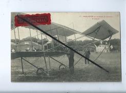"""CPA - Paillette Au Moment De Prendre Le Départ   (avion , Aviation, )""""Offert Gracieusement Par Le Journal"""" - Airplanes"""