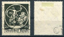 Deutsches Reich Michel-Nr. 138II Vollstempel - Geprüft - Deutschland