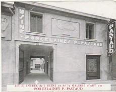 Advertising * Porcelaines P. Pastaud * Limoges * France - Pubblicitari
