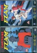 Lot De 5 Dvd Manga Capitaine Flam Volume 2-4-5-6-7 - Manga