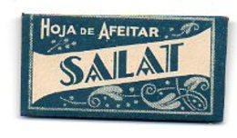 L144  Lame Salat  Espagne - Rasierklingen