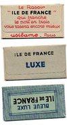L154  Lames Ile De France 3 Differentes - Rasierklingen