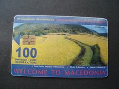 MACEDONIA USED  PHONECARDS   2 SCAN - Macedonia