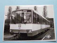 TRAM / METRO U2 HEDDERNHEIM Wagen/Stel 451 Duwag ( Photo 8/756 ) Frankfurt ( Voir/zie Foto´s Voor Details ) - Transports