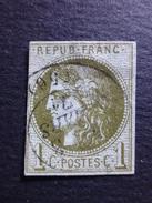 Année 1870  N° 39 - 1870 Emission De Bordeaux