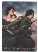 UFFICIO STORICO DELLA MILIZIA Tafuri Atto Di Fede Non Viaggiata COD.F.008 - Guerra 1939-45