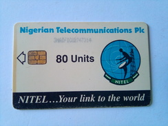 Nigeria Phonecard 80 Units 3NAIF Satellite Dish