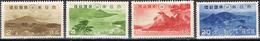 DO 5390  JAPAN SCHARNIER YVERT NRS 283/286 ZIE SCAN
