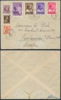 AL456 Lettre De Bruxelles à Neuhaussen Suisse 1937 - Belgique