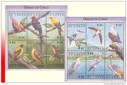 Congo BL 159/60**  Oiseaux Du Congo  MNH - Mint/hinged