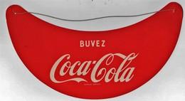 Visière Casquette Publicitaire En Carton Avec élastique Buvez Coca-Cola - Casquettes & Bobs