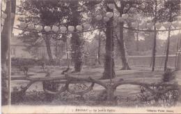 ALTE AK  BERNAY / Derp. Eure  - Le Jardin Public -  Gelaufen 1915 - Bernay
