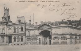 17 / 4 / 57  -    MEULAN  ( 78  )  -  L' HÔTEL  DE  VILLE, LA  POSTE  ET  LA  CAISSE  D'ÉPARGNE - Meulan