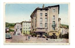 """Le Vigan (Gard) - Place Du Quai """"Lou Griffou"""" - Le Vigan"""