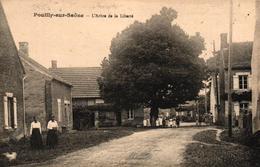 POUILLY SUR SAONE -71- L'ARBRE DE LA LIBERTE - Autres Communes