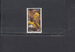 MALTA  2002 - Unificato  1188°  - Protezione Natura -WWF - Malta