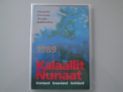 Groenland 1989 Les Timbres De L'année ** Dans Le Pack Annuel D'origine De La Poste Voir Photos - Groenland