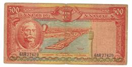 Angola, 500 Esc. 1956. G/VG. Free S/H To USA. - Angola