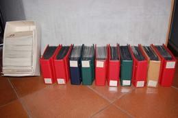 Deutschland - Große Kiste Mehrere Tausend Briefe, FDC Etc. In 10 Alben + Karton, 380 Bilder  ....129 (E)