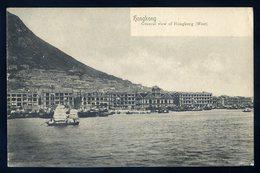 Cpa D' Asie Hongkong General View Of Hongkong - West ...  Hong Kong   GX54 - Chine (Hong Kong)