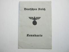 1945 , Kennkarte  Mit Lichtbild Aus Schleswig Mit Fiskalmarke - Duitsland