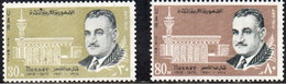 Egipto Aereo 120/121 ** MNH. 1970 - Luchtpost